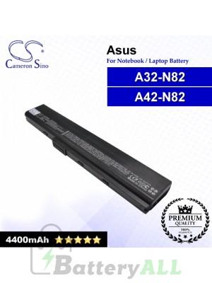 CS-AUN82NB For Asus Laptop Battery Model 07G016G81875 / A32-N82 / A42-N82