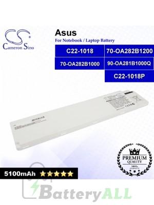 CS-AUP101NB For Asus Laptop Battery Model 70-OA282B1000 / 70-OA282B1200 / 90-OA281B1000Q / C22-1018 / C22-1018P