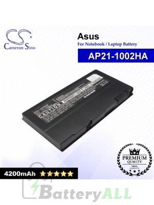 CS-AUP21NB For Asus Laptop Battery Model AP21-1002HA (Black)