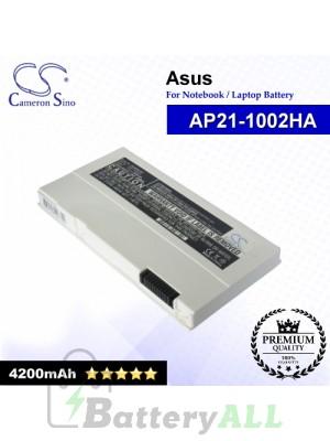 CS-AUP21NT For Asus Laptop Battery Model AP21-1002HA (White)