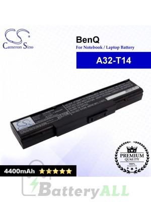 CS-BUR45NB For BenQ Laptop Battery Model A32-T14