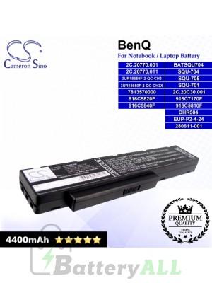 CS-BUS42NB For BenQ Laptop Battery Model 2C.20770.001 / 2C.20C30.001 / 7813540000 / 7813570000 / 916C5810F