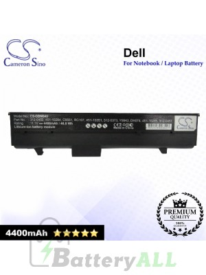 CS-DBM640 For Dell Laptop Battery Model 0C9551 / 0C9553 / 0C9554 / 0CC154 / 0CC156 / 0DC224 / 0FC141 / 0TC023