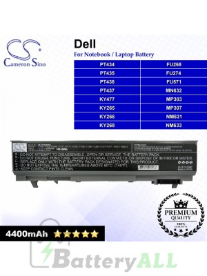 CS-DE2400NB For Dell Laptop Battery Model 0GU715 / 0H1391 / 0MP307 / 0P018K / 0RG049 / 0TX283 / 0W0X4F