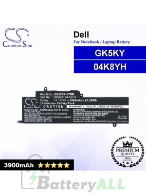 CS-DE3147NB For Dell Laptop Battery Model 04K8YH / GK5KY