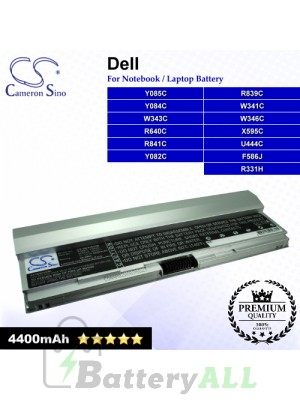 CS-DE4200HB For Dell Laptop Battery Model F586J / R331H / R640C / R839C / R841C / U444C / W341C / W343C