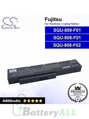 CS-FU3710NB For Fujitsu Laptop Battery Model 3UR18650-2-T0182 / S26393-E048--V613-03-0937