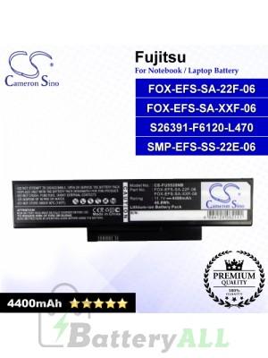 CS-FU5535NB For Fujitsu Laptop Battery Model FOX-EFS-SA-22F-06 / FOX-EFS-SA-XXF-06 / S26391-F6120-L470