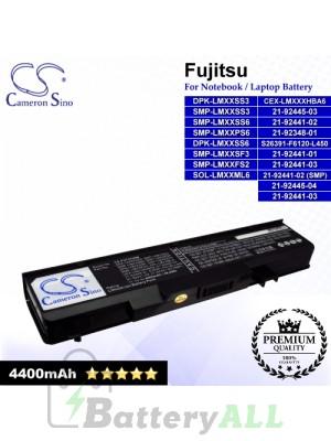 CS-FU7310NB For Fujitsu Laptop Battery Model 21-92348-01 / 21-92441-01 / 21-92441-02 / 21-92441-02 (SMP)