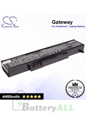 CS-GWP170NB For Gateway Laptop Battery Model 1BTIZZZ0TAT / 1BTIZZZ0TAU / 1BTIZZZ0TAV / 2524264 / 2524265