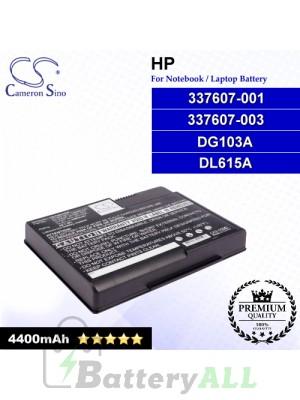CS-CNX7000 For HP Laptop Battery Model 337607-001 / 337607-003 / DG103A / DL615A