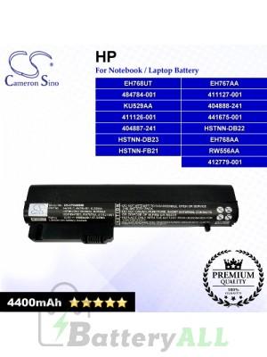 CS-CP2400NB For HP Laptop Battery Model 412789-001 / BJ803AA / HSTNN-XB21 / HSTNN-XB22 / HSTNN-XB23 / MS06XL