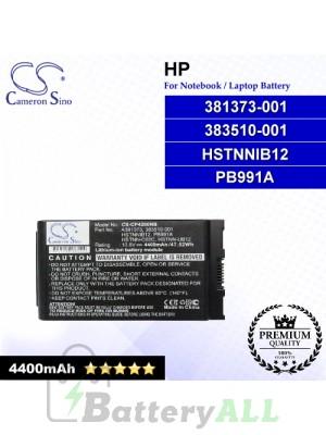CS-CP4200NB For HP Laptop Battery Model 381373-001 / 383510-001 / HSTNNIB12 / PB991A