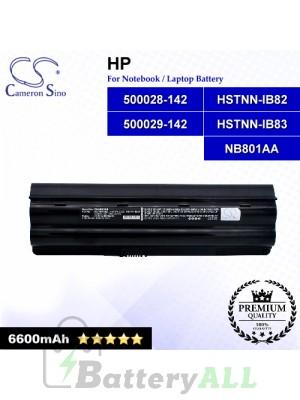 CS-HDV3HB For HP Laptop Battery Model 500028-142 / 500029-142 / HSTNN-IB82 / HSTNN-IB83 / NB801AA
