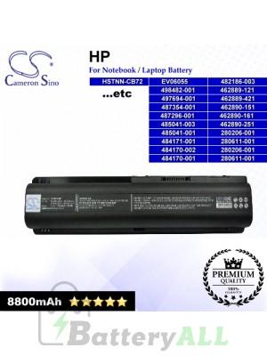 CS-HDV4HB For HP Laptop Battery Model 462889-121 / 462889-421 / 462890-151 / 462890-161 / 462890-251 / 462890-541
