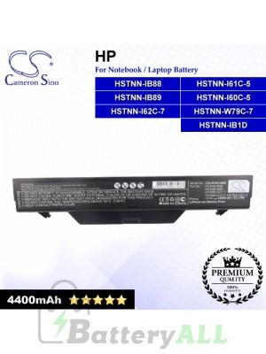 CS-HP4510NB For HP Laptop Battery Model 513130-321 / 535753-001 / 535808-001 / 572032-001 / 591998-141 / 593576-001