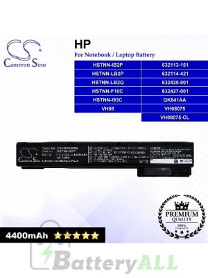 CS-HP8560NB For HP Laptop Battery Model 632113-151 / 632114-421 / 632425-001 / 632427-001 / HSTNN-F10C / HSTNN-I93C