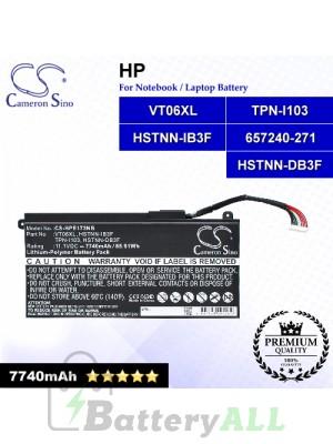 CS-HPE173NB For HP Laptop Battery Model 657240-151 / 657240-171 / 657240-251 / 657240-271 / 657503-001 / 996TA008H