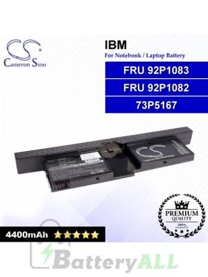 CS-IBX41 For IBM Laptop Battery Model 73P5167 / FRU 92P1082 / FRU 92P1083