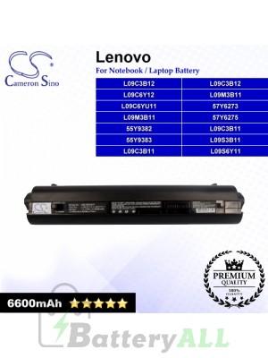 CS-IBS10HT For Lenovo Laptop Battery Model 55Y9382 / 55Y9383 / 57Y6273 / 57Y6275 / L09C3B11 / L09C3B12 (Black)