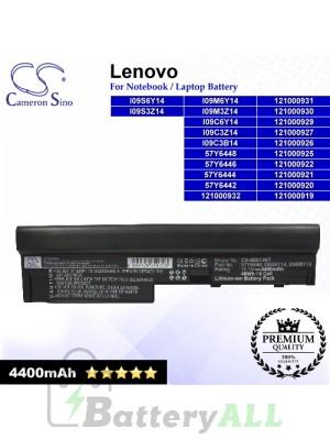 CS-IBS13NT For Lenovo Laptop Battery Model 121000919 / 121000920 / 121000921 / 121000922 / 121000925