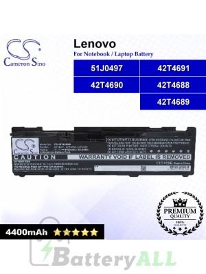 CS-IBT400NB For Lenovo Laptop Battery Model 42T4688 / 42T4689 / 42T4690 / 42T4691 / 51J0497