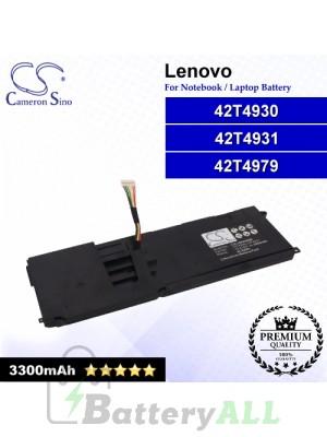 CS-LVE220NB For Lenovo Laptop Battery Model 42T4928 / 42T4975 / 4ICP9/52/61