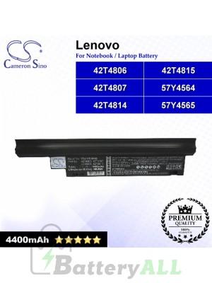 CS-LVE30NB For Lenovo Laptop Battery Model 42T4806 / 42T4807 / 42T4812 / 42T4813 / 42T4814 / 42T4815