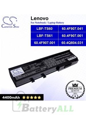 CS-LVE420NB For Lenovo Laptop Battery Model 60.4F907.001 / 60.4F907.041 / 60.4F907.061 / 60.4Q804.031