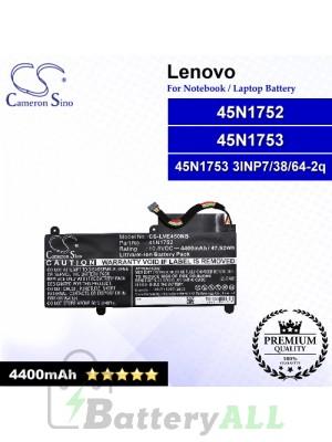 CS-LVE450NB For Lenovo Laptop Battery Model 00HW022 / 45N1752 / 45N1753 / 45N1753 3INP7/38/64-2q