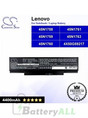 CS-LVE550NB For Lenovo Laptop Battery Model 45N1758 / 45N1759 / 45N1760 / 45N1761 / 45N1763 / 4X50G59217