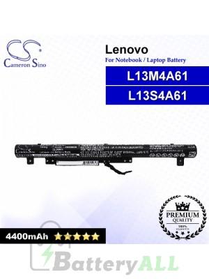 CS-LVF215NB For Lenovo Laptop Battery Model 121500260 / 121500262 / L13L4A61 / L13L4E61 / L13M4A61