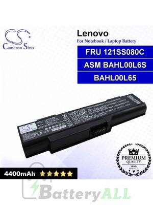 CS-LVG400NB For Lenovo Laptop Battery Model ASM BAHL00L6S / BAHL00L65 / FRU 121SS080C