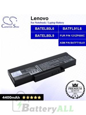 CS-LVK42NB For Lenovo Laptop Battery Model ASM P/N BATFT10L61 / BATEL80L6 / BATEL80L9 / BATFL91L6