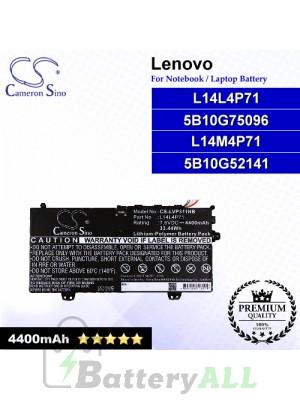 CS-LVP311NB For Lenovo Laptop Battery Model 5B10G52141 / 5B10G75096 / L14L4P71 / L14M4P71