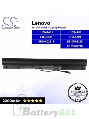 CS-LVT400NB For Lenovo Laptop Battery Model 5B10K02215 / 5B10K02218 / 5B10K02219 / L15L4A01 / L15M4A01