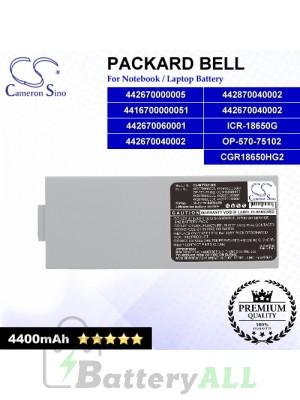 CS-MT7521NB For Packard Bell Laptop Battery Model 4416700000051 / 442670000005 / 442670040002 / 442670060001
