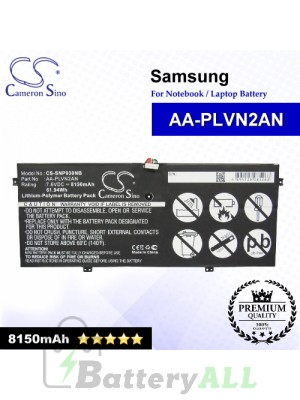 CS-SNP930NB For Samsung Laptop Battery Model AA-PLVN2AN