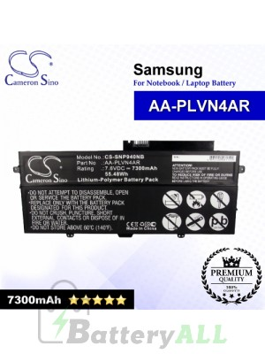 CS-SNP940NB For Samsung Laptop Battery Model AA-PLVN4AR