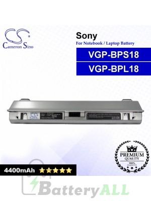 CS-BPS18NT For Sony Laptop Battery Model VGP-BPL18 / VGP-BPS18