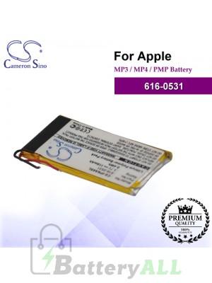 CS-IPNA6SL For Apple Mp3 Mp4 PMP Battery Model 616-0531