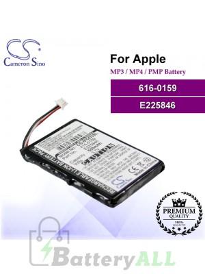 CS-IPOD3SL For Apple Mp3 Mp4 PMP Battery Model 616-0159 / E225846