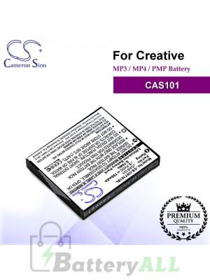 CS-CRT101SL For Creative Mp3 Mp4 PMP Battery Model CAS101