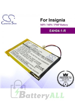 CS-ISN24SL For INSIGNIA Mp3 Mp4 PMP Battery Model E4H04-1-R