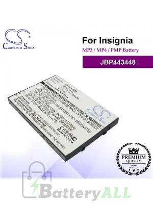 CS-ISN4GSL For INSIGNIA Mp3 Mp4 PMP Battery Model JBP443448