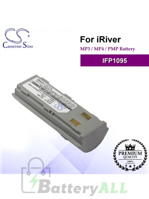 CS-1095 For iRiver Mp3 Mp4 PMP Battery Fit Model IFP1095