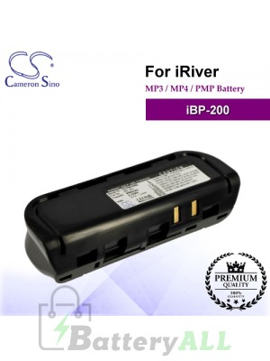 CS-PM100SL For iRiver Mp3 Mp4 PMP Battery Model iBP-200