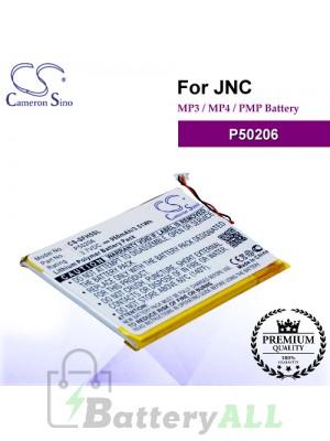CS-SFH5SL For JNC Mp3 Mp4 PMP Battery Model P50206
