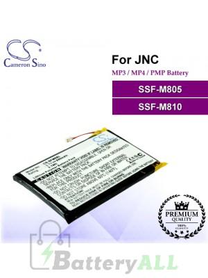 CS-SFM8SL For JNC Mp3 Mp4 PMP Battery Fit Model SSF-M805 / SSF-M810
