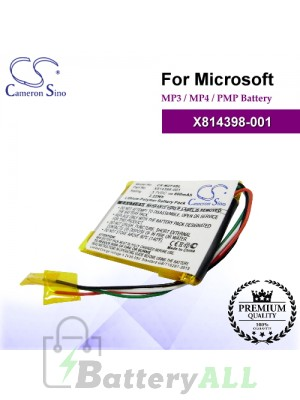 CS-MZF4SL For Microsoft Mp3 Mp4 PMP Battery Model X814398-001